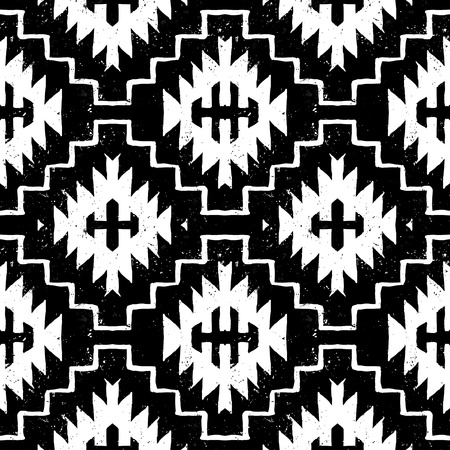 tribales: Vector navajo ornamento tribal
