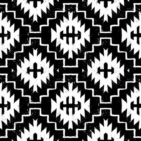 Vector navajo tribal ornament Vettoriali