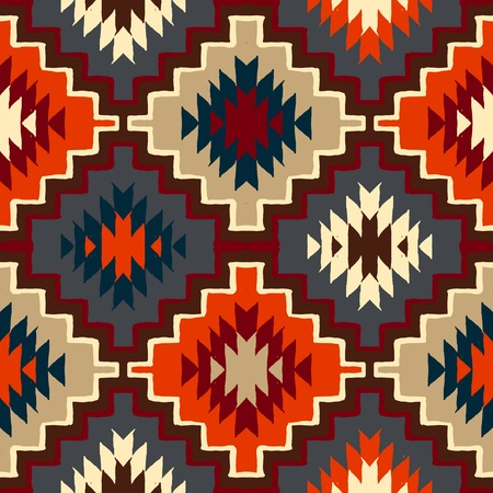 navajo tribal ornament Иллюстрация
