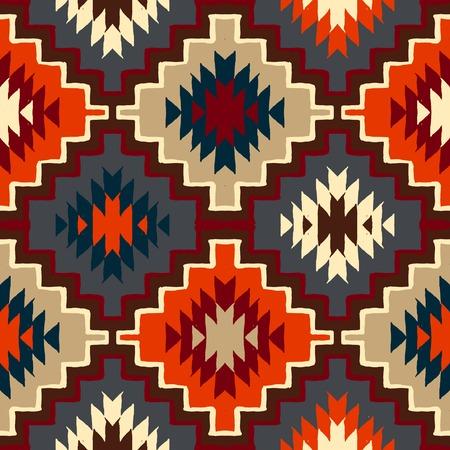 navajo tribal ornament Vettoriali