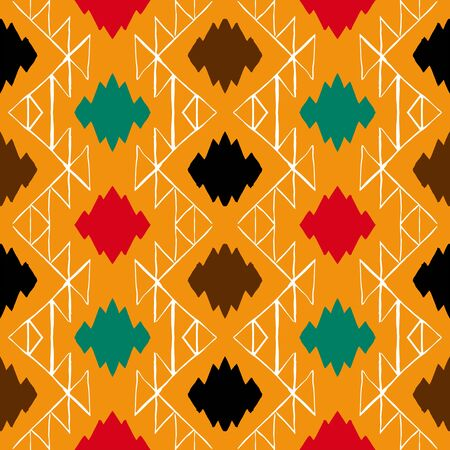Vector navajo tribal ornament 向量圖像