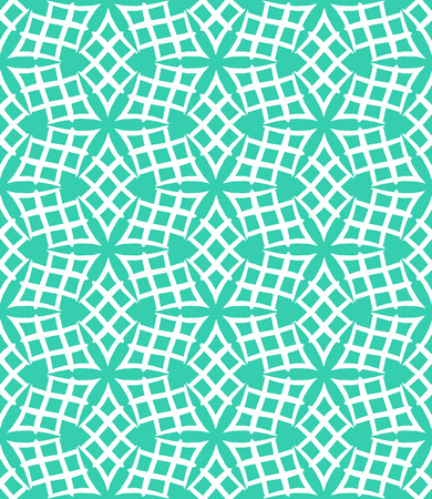 art deco background: Simple elegant linear vector pattern in 1920s style. Modern art deco background with lines and geometric ornament in bright aqua green color