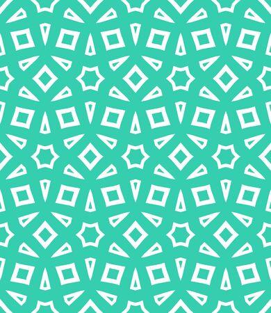 color in: vector patrón geométrico abstracto en color verde tropical.