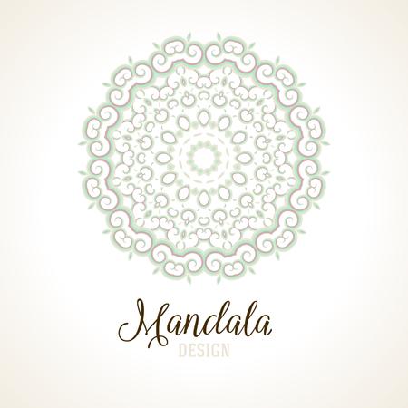 silver texture: Vector illustration of big detailed mandala. Floral abstract background. Concept round ornament for yoga studio, meditation, Indian, Arabic or Thai cuisine restaurant, tattoo salon, wedding invitation