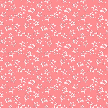 vector pattern: Cute stars. Stars pattern. Cute vector. Vector stars. Seamless stars. Cute seamless patter. Pink cute pattern. Vector cute background. Ditsy cute stars. Small cute stars. Cute vector. Vector seamless. Illustration