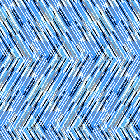 Gestreept patroon. Line en zigzag achtergrond. Chevron patroon. Vector naadloze chevron textuur. Striped chevron. Afdrukken met lijnen en strepen. Moderne geometrische strepenpatroon. Vector strepen achtergrond Stock Illustratie