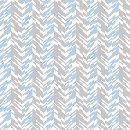 winter colors: Vector geometric seamless chevron pattern with zigzag line and overlapping stripes in grey colors. Striped bold print in hipster style for winter fall fashion. Abstract monochrome tech background