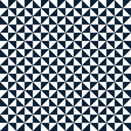 winter fashion: Small geometric abstract mosaic pattern with triangles and simple shapes in black and white for fall winter fashion. Abstract dynamic techno op art background. Seamless monochrome vector print