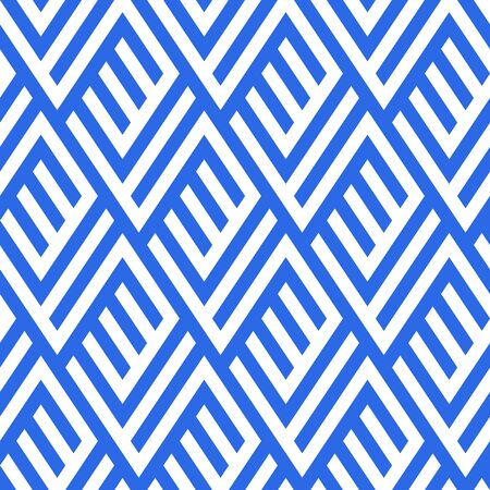 Pattern with stripe, chevron, geometric shapes Illustration