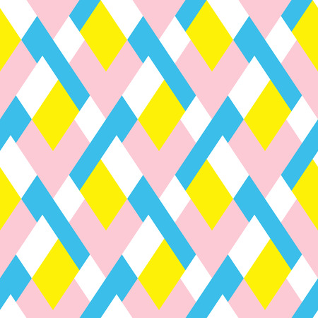 Pattern with stripe, chevron, geometric shapes 向量圖像