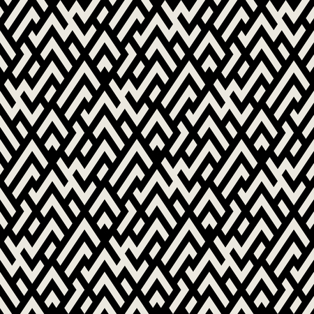 Abstract geometric pattern with maze Illustration