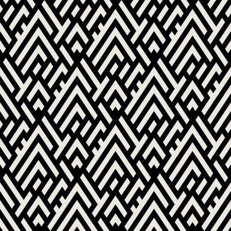 Abstract geometric pattern with maze Vectores