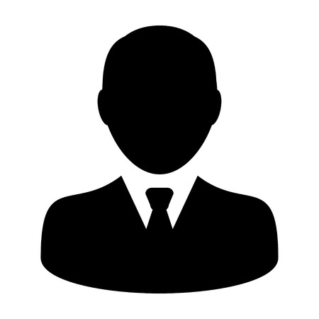 User Icon - Man, Profile, Businessman, Avatar, Person icon in vector illustration