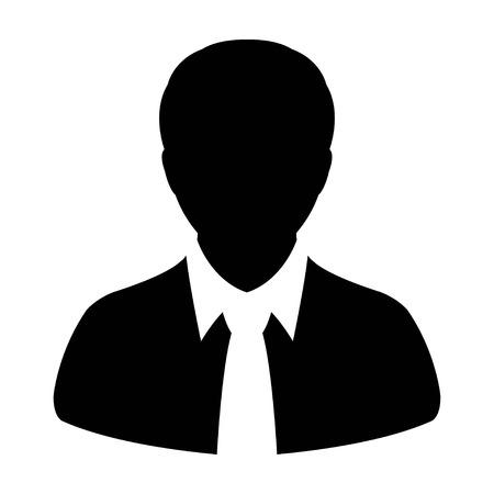 account executive: User Icon - Man, Profile, Businessman, Avatar, Person icon in vector illustration