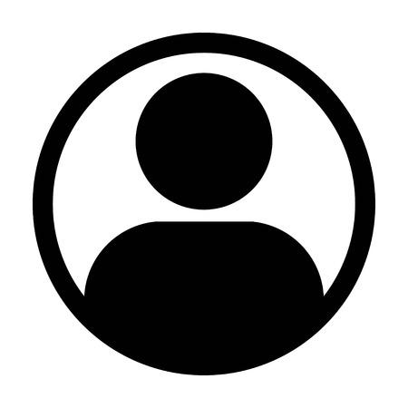 User Icon - Man, Profile, Businessman, Avatar, Person Glyph Vector illustration