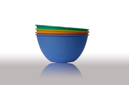 Colorful bowl photo