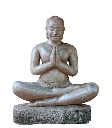 enlightenment: Buddha isolated