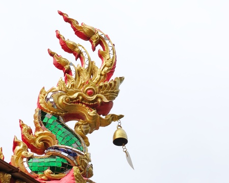 buddhist structures: Na ga head