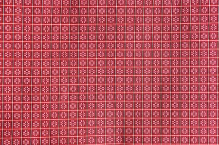 pattern of thai hand made fabric photo