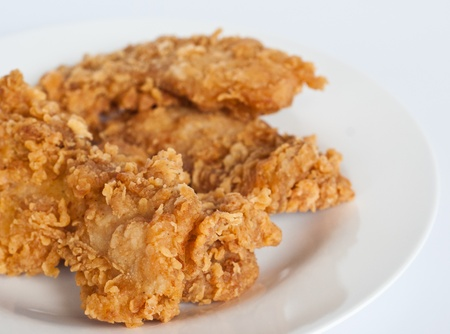 crispy: fried chicken