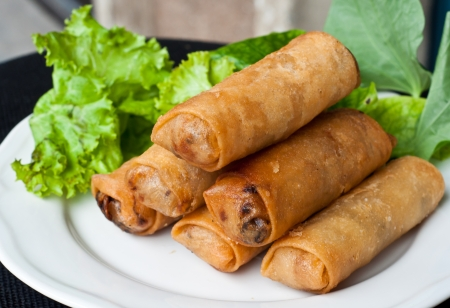 spring roll Stock Photo - 10746852