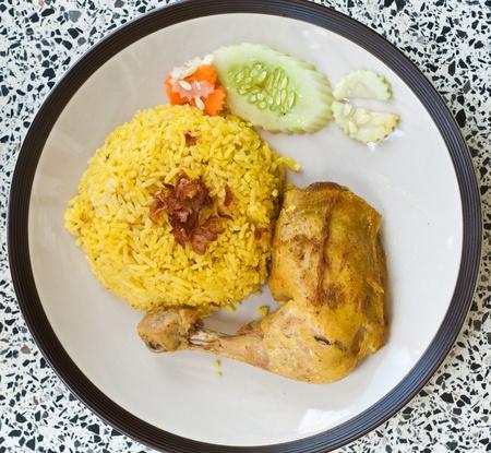 chicken biryani Stock Photo - 11212693