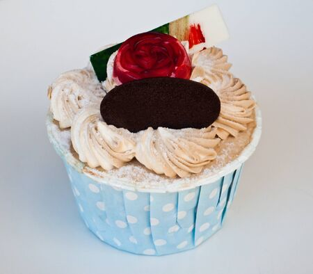 fancy cup cake photo