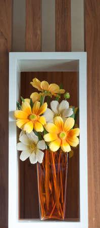 decoration flowers for interior design photo