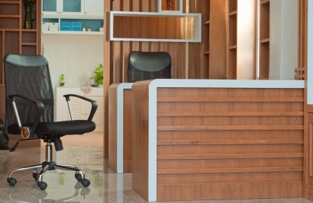 home office interior, wood concept Stock Photo - 13713167