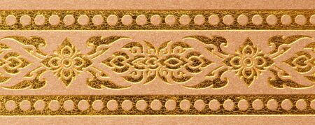 thai traditional pattern, ancient art photo