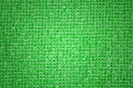 green microfiber texture, macro shot photo
