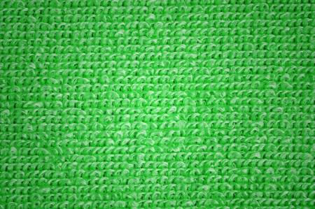 microfibra: microfibra verde textura, macro shot Foto de archivo