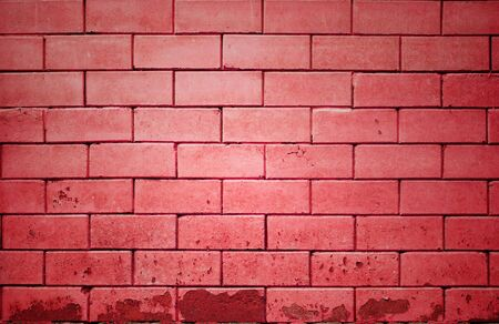 red brick wall getting older from the bottom Stock Photo - 15995574