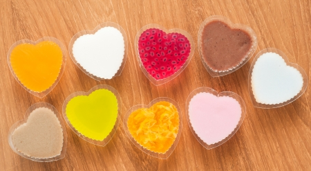 jelly sweets in heart shape Stock Photo - 17076709