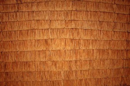 pattern of thatched roof