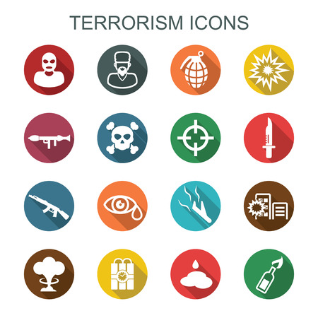 terrorism long shadow icons