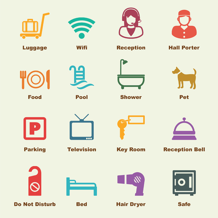 hotel rooms: hotel service elements