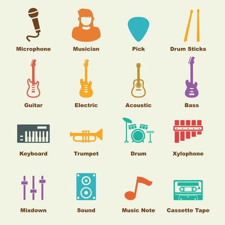teclado de piano: elementos de banda