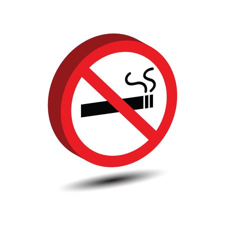 no smoking isometric, vector icons