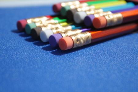 trustworthiness: Multicolored pencils, pencil Stock Photo