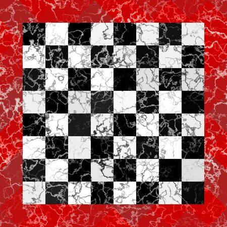 reminding: Marble chessboard