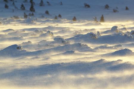 drifts: Snow drifts Stock Photo