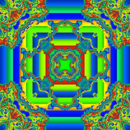 reminding: Abstract background reminding of mandala