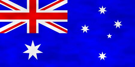 hymn: Illustration of Australian Flag