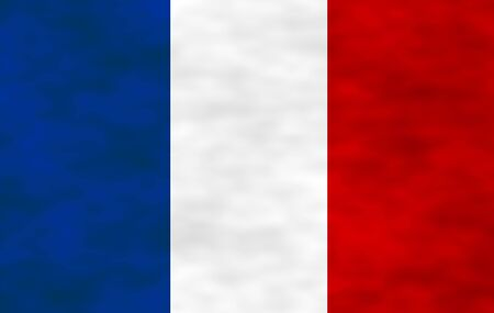 hymn: Illustration of French Flag Stock Photo