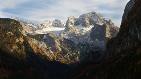 Massif of Dachstein, Austria