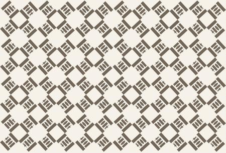 brown pattern: Brown pattern Illustration