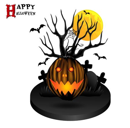 luna: Happy Halloween Illustration