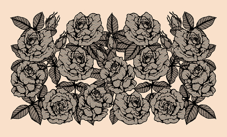 Line Drawing Of Rose Plant : Vector line drawing beautiful flowers plant free in
