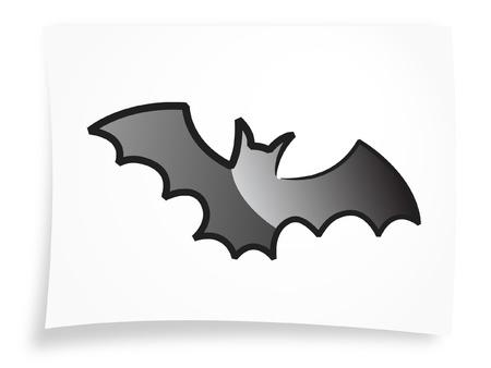 helloween: Halloween vleermuis